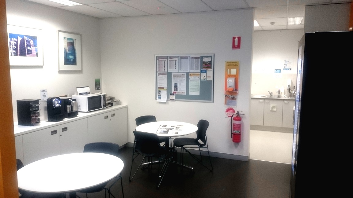 Tea room / Lunchroom - Property Design Guidelines